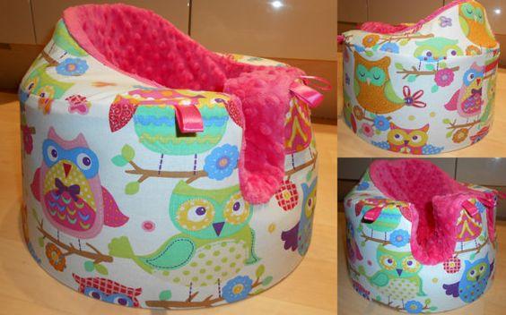 Handmade cover for Bumbo seat with or by HandicraftForBaby