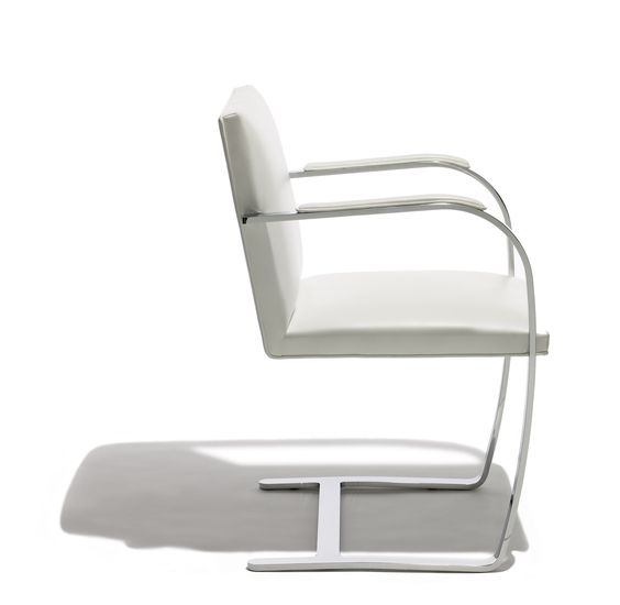 The Brno Chair designed by Ludwig Mies van der Rohe in 1930 _