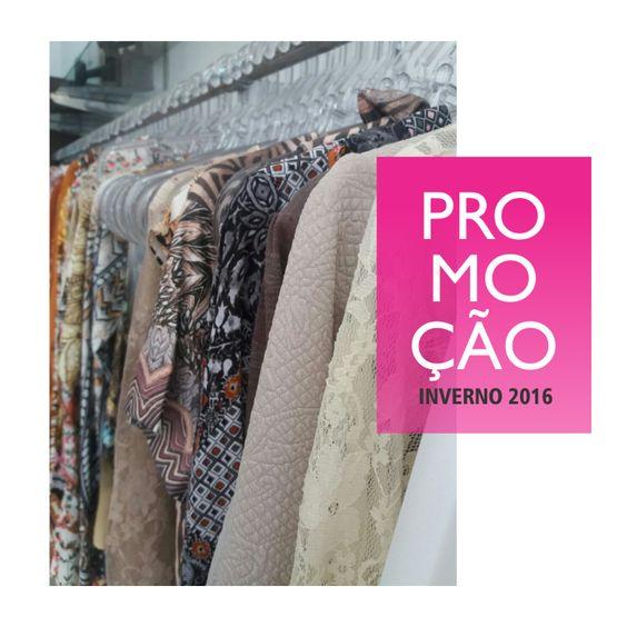 Como não amar promoção? #sale #ourovelho #modaourovelho #inverno2016>>> modaourovelho.com