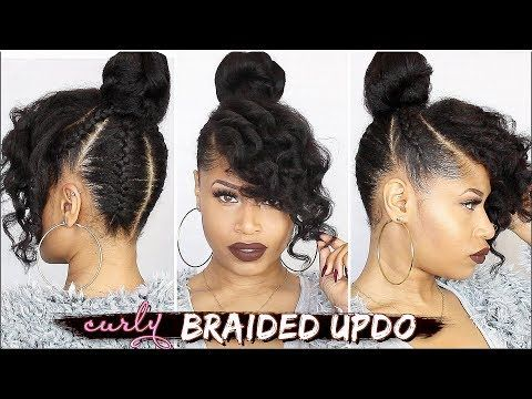 The Do S And Don Ts Of Cornrows And Braid Care That Will Keep You Looking Fresh For Longer Braided Curly Updo Natural Hair Styles Natural Hair Tutorials
