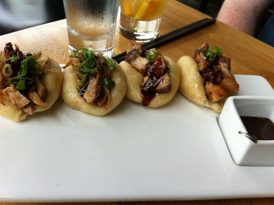 Steamed Buns: Suckling Pig & Pork Belly - Bones, Denver CO   Restaurants Around the World ...