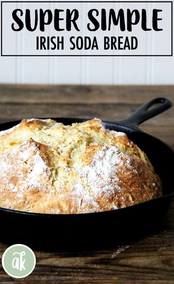 Super Simple Irish Soda Bread