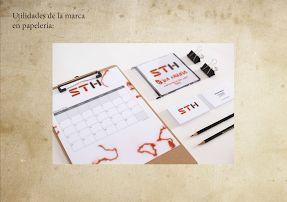 Proyecto Identidad Corporativa - Andrea Almeida. #diseñográfico www.natural-design.es