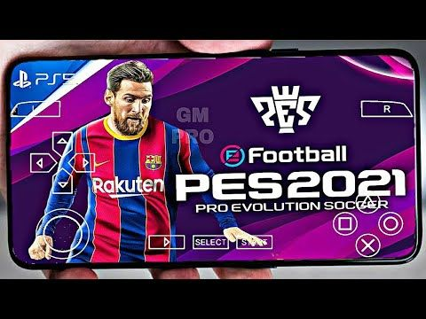 Best Youtube Camera 2021 PES 2021 PPSSPP Camera PS5 Android Offline 700MB | Download PES 21