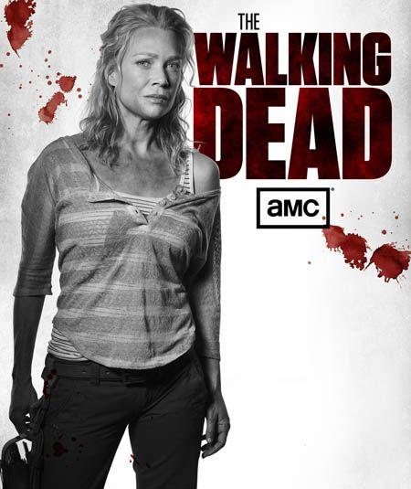 The Walking Dead Season 3 Black  White Character Portraits
