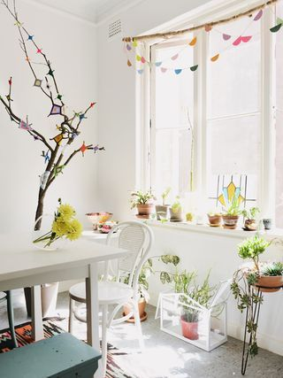 Little Nicki's happy and relaxed boho home
