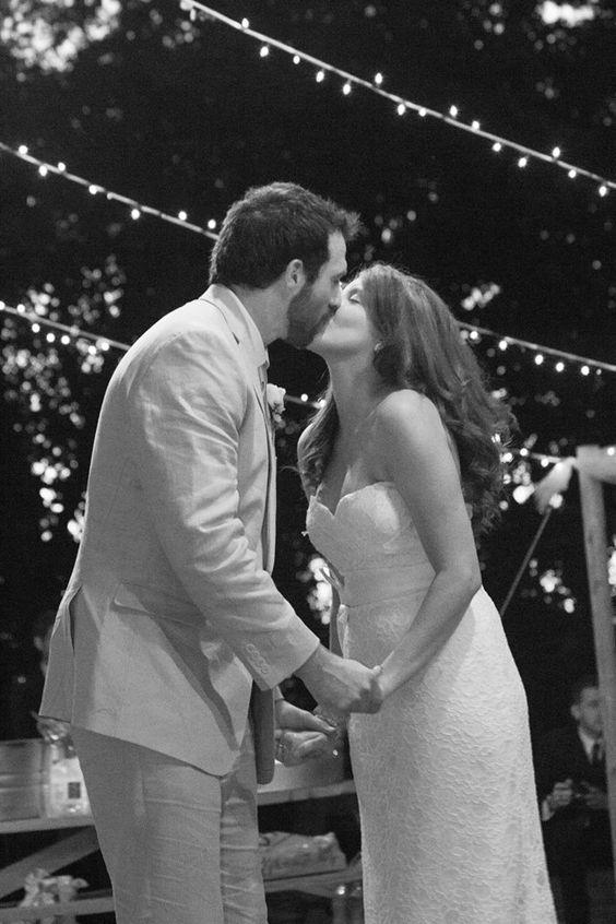 Outdoor Wedding Dance Floor Lights