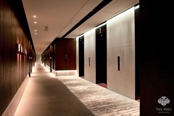 Puli hotel shanghai 2 corridor pinterest for Design hotel shanghai