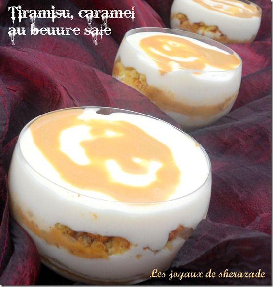 Un petit dessert gourmand qui va ravir les amateurs du tiramisu et du caramel beurre salé associé au gout du sablé breton, un concentré de plaisir, tro