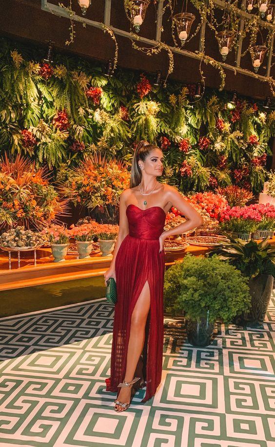 modelos de vestido de formatura glamour