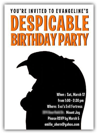 Despicable Me Party