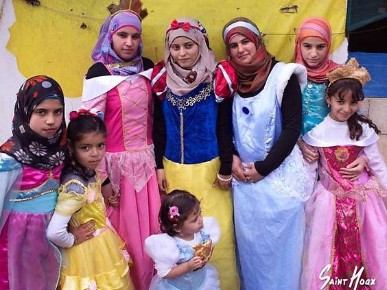 Projeto retrata garotas sírias refugiadas vestidas de princesas
