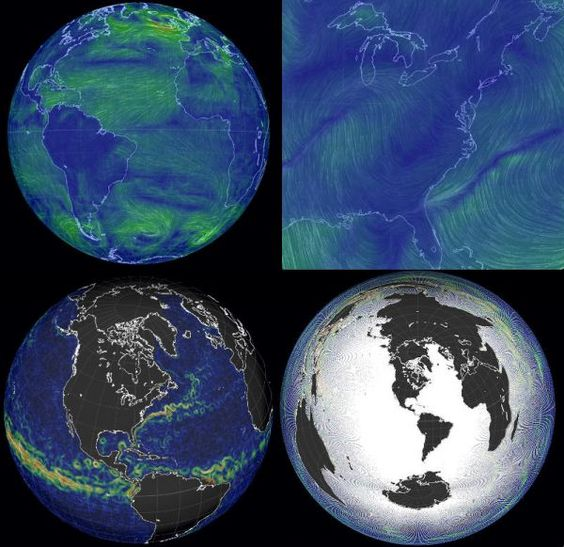 The Earth Interactive map of wind and ocean currents Neatorama – Earth Interactive Map