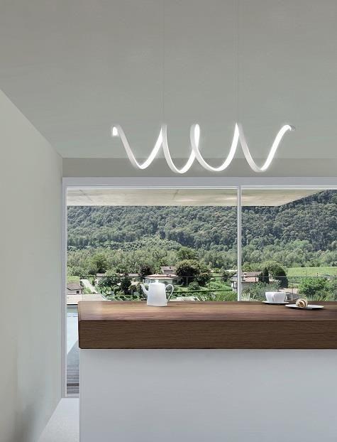 In questa sezione trovi Lampadari a LED per cucina, camera ...