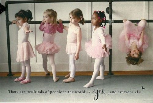 BALLET WAS NEVER REALLY MY THING EITHER.