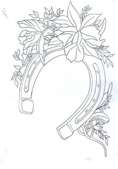 Pergamano page 2 pergamano pinterest beautiful - Fer a cheval dessin ...