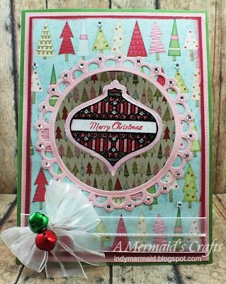 A Mermaid's Crafts: Deck the Halls ~ indymermaid.blogspot.com