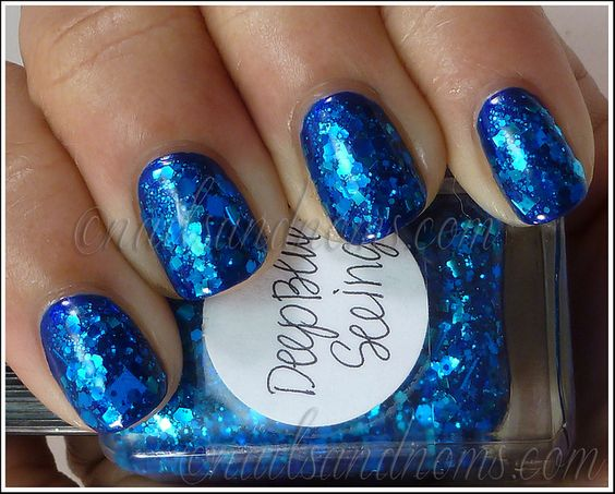 Deep Blue Seeing 1 by NailsandNoms, via Flickr