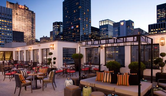 The Peninsula Hotel NYC - Salon De Ning Rooftop Bar: Favorite Places Spaces, Ning Rooftop, Nyc Rooftops, Peninsula Nyc