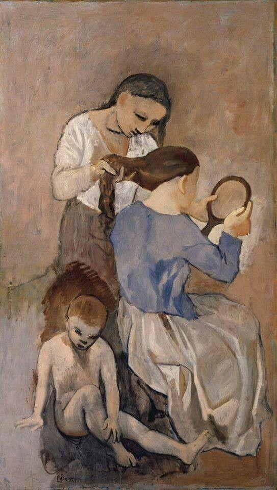 Pablo Picasso  La coiffure - 1906