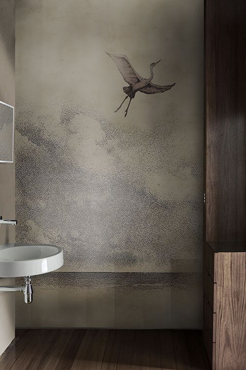Waterproof Washable Wallpaper Learn To Fly Wet System 19 Collection By Wall Deco Washable Wallpaper Wall Deco Wall Coverings