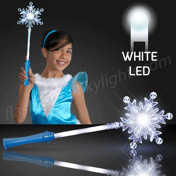 Fbl S Winter Princess Light Up Snowflake Wands With