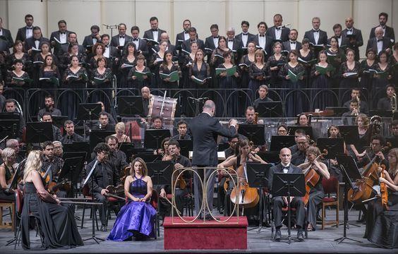 Concierto 3. Orquesta Filarmónica de Santiago. Director musical: José Luis Domínguez. Foto: Patricio Melo.