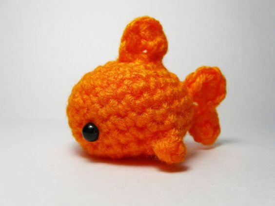 Fancy Goldfish Amigurumi By Kate Wood : Shark Attack! 5 Free Sea Life Amigurumi Patterns ...