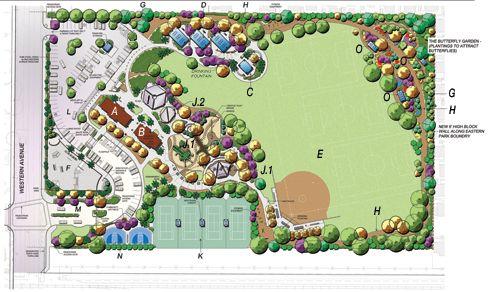 A Big Park For A Small Town Stanton Central Park Stanton California By David Volz David Volz Design Landscape A Landscape Architect Landscape Architect