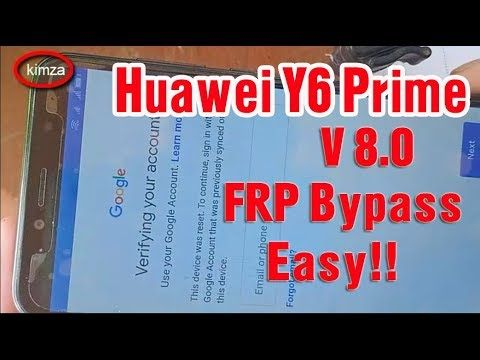 How To Bypass Google FRP Lock On Any Android 6, 8 & 9 Phones-New ...