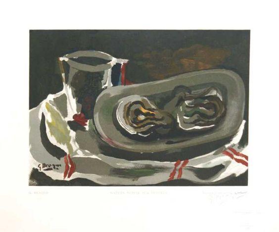 Nature Morte Aux Huitres by George Braque