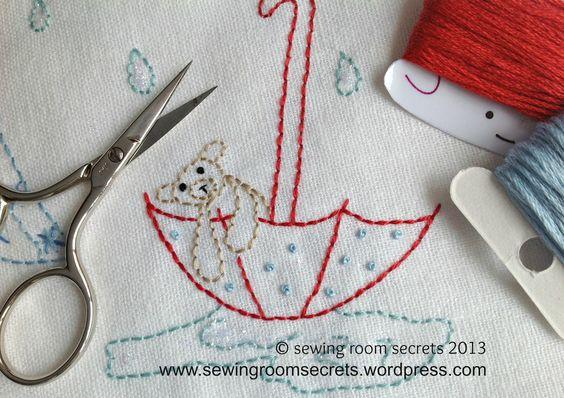 'When it rains .....' pattern by sewing room secrets