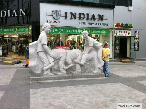 Korea: Its really on the street