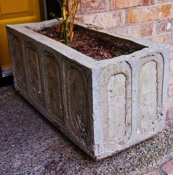 Diy Concrete Planter Box: Diy Concrete Planters, Concrete