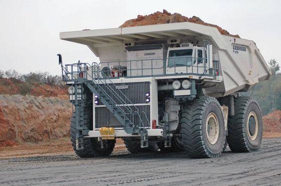 LIEBHERR off road haul truck.....