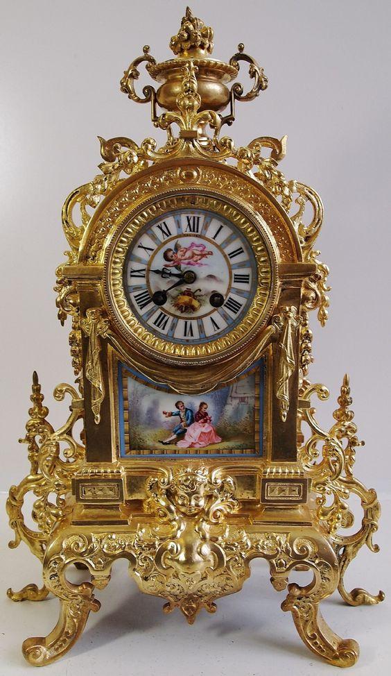 Vintage French Clock | home antique clocks antique french clocks item number…