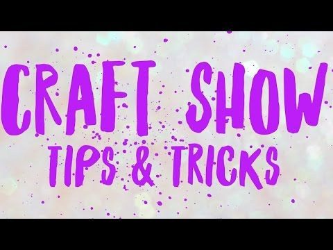 Hi everyone! Happy Saturday, I hope your weekend is off to a great start! I have my Craft Show Tips & Tricks video that I promised I would...