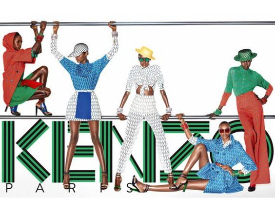 [Video]: Ajak Deng, Ataui Deng, Alek Wek & Nairoby Mato are Cool Cats in the Kenzo SS12 Ad