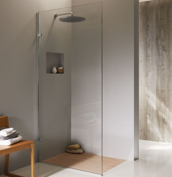 Small Bathroom With Frameless Shower: Frameless Shower Screens From Magestic