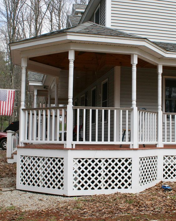 Gazebo Farmers Porch And Porches On Pinterest