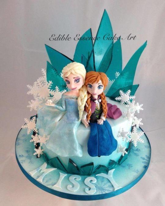 Cake Art By Jen : Themed cakes, Frozen cake and Frozen on Pinterest