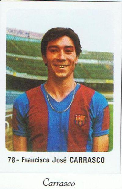 El Barça de 1980-81  CARRASCO