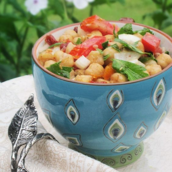 Balela salad is all the rage. Here are my lip-smaking ideas to make it the most delicious one you've had yet! The first time I had Balela salad it was at a local restaurant here in Stowe, Vermont called PLATE. The next time I bought a tub of Pita Pal's brand at... #anyseasonrecipe #balela #chickpea