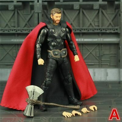 """Marvel Avengers Infinity War Endgame THOR 6/"""" Action Figure With Storm"""