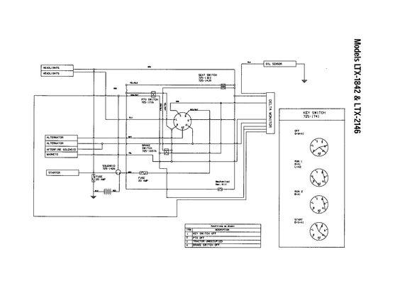 Wiring Diagram Troy Bilt Lawn Tractor Somurichcom