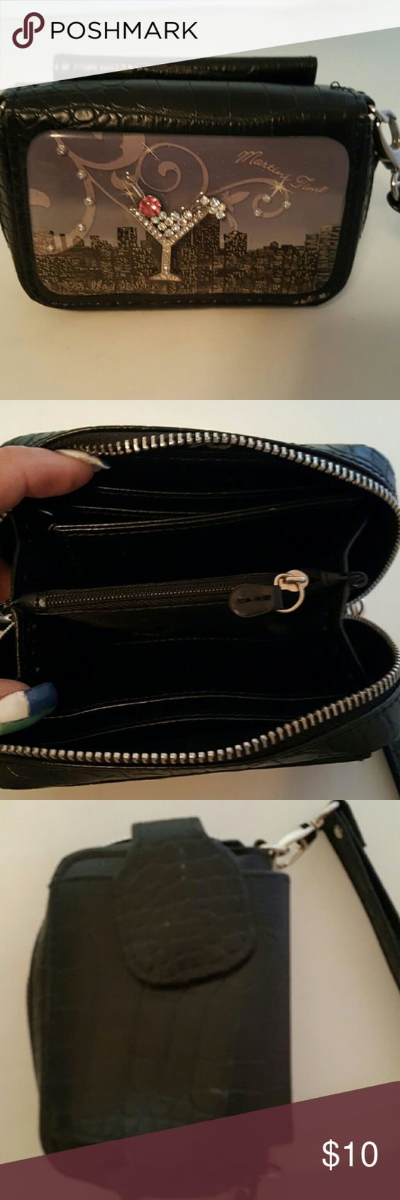 debbie brooks wrist bag and cell phone holder my style