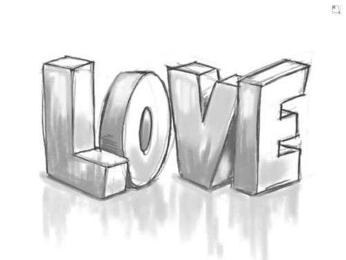 Graffitis De Corazones Chidos De Amor A Lapiz Imagenes Para