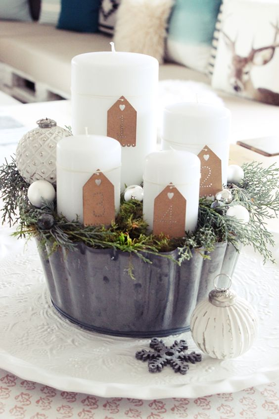 S 39 bastelkistle diy adventskranz adventszeit pinterest selber machen - Pinterest adventskranz ...