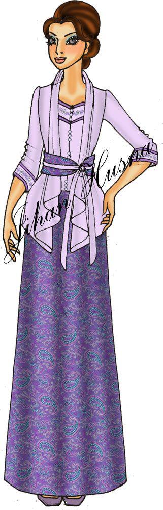 D s long dress katun