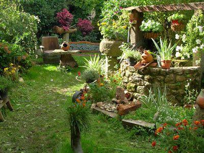 Un jardín doméstico. Sosiegos en San Martín del Castañar (Salamanca).